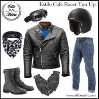 estilo cafe racer ton up para moteros