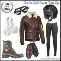estilo motera cafe racer ton up para moteras
